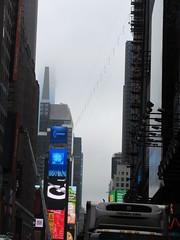 2019 Wallenda Tightrope Line above Times Square 1909 (Brechtbug) Tags: tightrope line above times square that wallenda guy will walk sunday june 23rd 2019 nyc 06192019