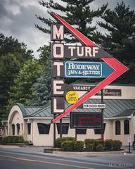 Turf Motel (makleen) Tags: sign signs neonsign neon neonlights steelsign motel motelsign lodging westvirginia roadside roadsideamerica shenandoahvalley