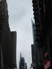 2019 Wallenda Tightrope Line above Times Square 1923 (Brechtbug) Tags: tightrope line above times square that wallenda guy will walk sunday june 23rd 2019 nyc 06192019