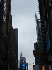 2019 Wallenda Tightrope Line above Times Square 1916 (Brechtbug) Tags: tightrope line above times square that wallenda guy will walk sunday june 23rd 2019 nyc 06192019