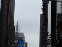 2019 Wallenda Tightrope Line above Times Square 1913 (Brechtbug) Tags: tightrope line above times square that wallenda guy will walk sunday june 23rd 2019 nyc 06192019