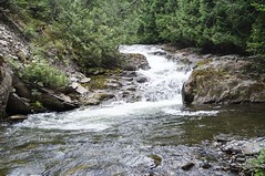 PREMIÈRE CHUTE DU ROBITAILLE (Yvan Boudreault) Tags: chute cascade waterfall water eau landscape paysage