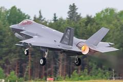 17-5252 USAF Lockheed Martin F-35A Lightning II, EFTU, Finland (Sebastian Viinikainen.) Tags: 175252 usaf unitedstatesairforce lockheedmartin f35 421st hx eftu turkuairshow2019 fighter