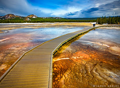 Go The Distance (James Neeley) Tags: yellowstone ynp yellowstonenationalpark landscape midwaygeyserbasin boardwalk jamesneeley