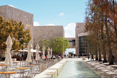 Getty Center Courtyard