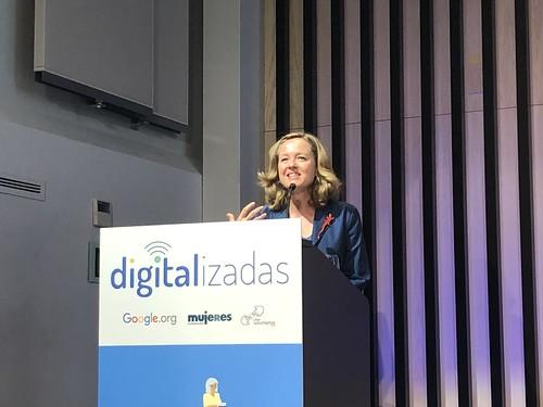 I Encuentro Nacional de Mujeres Digitalizadoras. Campus Madrid. Junio 2019.