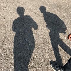Walking to school in Toronto .... (Trinimusic2008 -blessings) Tags: trinimusic2008 judymeikle nature toronto to ontario canada shadows ellis june 2019 today grandson