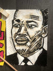 martin luther king painting (danor shtruzman) Tags: art abstract digital flowersprint animal beauty mountains wallpaper woman people sex snow white flower paint sea graffiti nude nature draw light winter birdcatsound fashion chic groove grunge star watercolor kiss book paper banksy waterretrobrazil street urban vintage shepardfaireybomber ebay cooldrawing painting sketch illustration popart streetart handmadeisraelhouse car food bw old macro music new garden orange moon summer city trees yellow lake christmas bridge family river