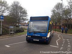 KX55PFZ 47414 Stagecoach Midlands (Northamptonshire) in Wellingborough (Nuneaton777 Bus Photos) Tags: stagecoach midlands optare solo kx55pfz 47414 wellingborough