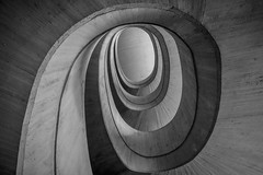 made of concrete (Blende1.8) Tags: stair stairs spiralstaircase spiralstair wendeltreppe beton concrete palaudeslesarts valencia cityofartsandscience stairway treppe staircase treppenhaus treppenauge lines linien wideangle wide interior architecture sel1224g sony 1224mm a7rii a7rm2 ilce7rm2