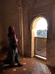 View of faith. (Omi PJ Kuo) Tags: pixel googlepixel granada alhambra spain