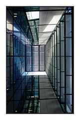 Perspective 65 quai Georges Gorce (freephysique) Tags: perspective immeuble building boulogne billancourt abstrait abstract ligne fuite architecture nikon d750 urban ville 16mm lumière