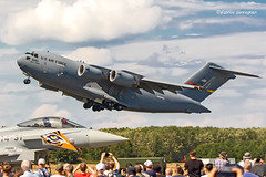 C17 United States Air Force (Planes , ships and trains!) Tags: klu luchtmachtdagen airplane aircraft airshow airshows militaryaviation militaryairplane military militaryaircraft netherlands c17 unitedstatesairforce usaf transport airtransport lmd19