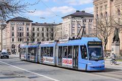 MUE_2208_201903 (Tram Photos) Tags: adtranz r33 gt8n niederflur münchen munich swm tram tramway strasenbahn
