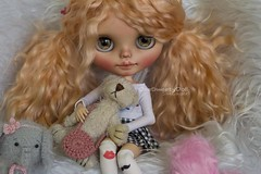Lola (SBL Save the animals) (OneSweetyDoll) Tags: blythe onesweetydoll onsweetydoll customdoll custom customized fashion ooak dollycustom portrait blythedoll blythedollcustom blythecustom blythecustomizer ooakblythe customblythe kawaii doll artdoll dollstagram blythestagram blythebrune