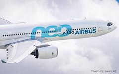 PAS19 | Airbus A330-900 NEO | F-WTTN (Timothée Savouré) Tags: fwttn airbus a330 a330900 neo a330neo paris air show salon du bourget 2019 demo flight