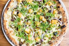 Breakfast Taco pizza - 2019 (canerossotx) Tags: breakfast taco brunch brisket tot tots