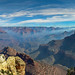 Grand Canyon National Park: Prescribed Fire Smoke in the Canyon - File Photo 9370