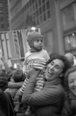 (kevynfairchild) Tags: womensmarch newyorkcity nyc blackandwhite bnw shotonfilm 35mm protest protests child children softfocus soft feminism feminist