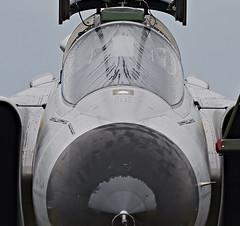 Saab Viggen (BelgiumOnePoint) Tags: volkel netherlands hollande aviation jets military airshow volkel2019 power avion helicopter saab viggen c1