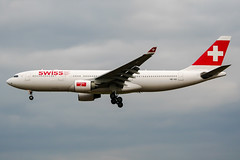 HB-IQG (PlanePixNase) Tags: aircraft airport planespotting bru ebbr brussels brüssel bruxelles zaventem swiss airbus 330 330200 a332