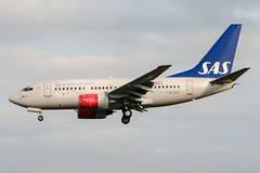 LN-RPX (PlanePixNase) Tags: aircraft airport planespotting bru ebbr brussels brüssel bruxelles zaventem boeing b736 737600 737 sas scandinavian