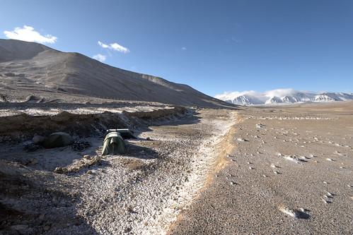 camp near kyrgyz border - Tajikistan