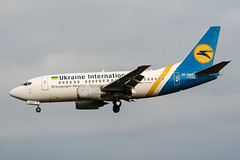 UR-GAT (PlanePixNase) Tags: aircraft airport planespotting bru ebbr brussels brüssel bruxelles zaventem boeing 737500 b735 737 ukraineinternational