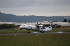 Flybe G-JECR BHD 13/06/19 (ethana23) Tags: aviation avgeek aeroplane aircraft airplane planes planespotting flybe bombardier dash8 q400