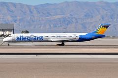 Allegiant Air - McDonnell Douglas (Douglas) MD-83 (DC-9-83) - N406NV  - McCarran International Airport (LAS) - Las Vegas - September 23, 2013 1 508 RT CRP (TVL1970) Tags: nikon nikond90 d90 nikongp1 gp1 geotagged nikkor70300mmvr 70300mmvr aviation airplane aircraft airliners mccarraninternationalairport mccarranairport mccarran mccarraninternational lasvegas las klas n406nv allegiantair allegiant n6202d uniflyexpress unifly n66480 blenheimaviation ec893 spanair spanairsa ecfjq ohlpa finnair serfc nordicairlink flynordic norwegianairshuttle nas mcdonnelldouglas douglasaircraft douglasaircraftcompany dac douglasdc9 douglas dc9 dc982 md82 md80 super80 super82 super83 mcdonnelldouglasmd82 mcdonnelldouglasmd83 md83 dc983 maddog prattwhitney prattwhitneyjt8d pwjt8d pw jt8d jt8d219