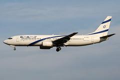4X-EKC (PlanePixNase) Tags: aircraft airport planespotting bru ebbr brussels brüssel bruxelles zaventem boeing 737800 b738 737 elal
