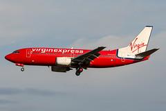 OO-LTM (PlanePixNase) Tags: aircraft airport planespotting bru ebbr brussels brüssel bruxelles zaventem boeing b733 737300 737 virgin express