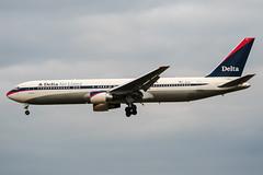 N1201P (PlanePixNase) Tags: aircraft airport planespotting bru ebbr brussels brüssel bruxelles zaventem boeing 767 b763 767300 delta deltaairlines