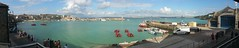 St Ives Panorama (andreboeni) Tags: stives cornwall westcornwall panorama vista view harbour beach boats seascape