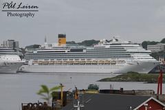 Costa - Costa Favolosa - Stavanger Harbour - 2019.06.19 (Pål Leiren) Tags: cruise ships cruiseships stavangerharbour stavanger harbour norway 2019 cruiseship vessel ship costacostafavolosa costa favolosa
