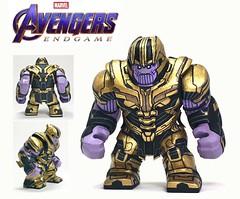 LEGO Custom Avengers Endgame: Thanos (AK Customs) Tags: custom lego endgame thanos marvel minifig avengers mcu superheroes villians photography