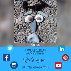 Exposition Coup de coeur ''L'Écho logique'' (Leelooart) Tags: exposition coup coeur léchologique expo expositionartistique caromonette francoisemontpetit juliesylvainpinet grou jeangroulx rogerwinkler rogerartistephotographe mrcdargenteuil lachute polyvalentelavigne aristes art artabstrait artfiguratif artisteportraitiste abstractart portraitistederivage rivage colorful couleurs coloré colors blue orange bleue mauve or argenté scintillant sparkle publicité cause arts artcollector artwork artworks pharmaciejeancoutu purple gracieuseté gratitude jeancoutu