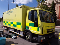 6400 - NWAS - PO61 HYL - 101_2210 (Call the Cops 999) Tags: uk gb united kingdom great britain england 999 112 emergency service services vehicle vehicles trafford centre day thursday 5 august 2018 nwas north west ambulance nhs national health special operations response team sort mercedes benz sprinter incident support unit isu po61 hyl