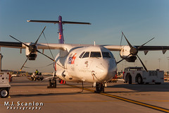 N916FX FedEx Feeder | ATR 42-300(F) | Memphis International Airport (M.J. Scanlon) Tags: atr42 atr42300f absolutelypositivelyovernight air aircraft aircraftspotter aircraftspotting airliner airplane airport americaneagle aviation canon capture cargo digital eos executiveairlines fedex fedexfeeder federalexpress flagshipairlines flight fly flying freight freighter haul image impression logistics mem memphisinternationalairport mojo n314am n916fx packages perspective photo photograph photographer photography picture plane planespotter planespotting scanlon spotter spotting theworldontime ©mjscanlon ©mjscanlonphotography