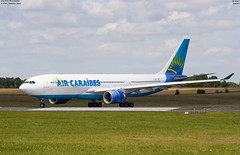 airbus A330-200 Air Caraibes F-OFDF (lucas slow) Tags: avion ciel cockpit photo spotting airport chr lflx châteauroux landing take off roues winglets turboréacteurs propeller airbus a330200 a330 air caraibes fofdf