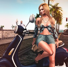 Let me go.... (desiredarkrose) Tags: anthem amias road woman girl avatar tableauvivant wetcat littlehavana ncore secondlife slblog sl apparel fashionblog style thelook groupgift