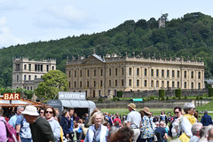 Chatsworth House Over the River (Bri_J) Tags: rhs chatsworthflowershow2019 chatsworthhouse edensor derbyshire uk chatsworth flowershow nikon d7500 building statelyhome crowd