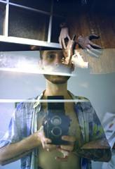 A life divided (Karsten Fatur) Tags: film analogue filmphotography doubleexposure surreal ethereal ghost portrait model malemodel gay lgbt lgbtq queer queerart 120film 120 mediumformat mediumformatfilm filmswap collaboration nude naked nudemodel man male lighting naturallight travel abandoned abandonedbuilding abandonedplaces