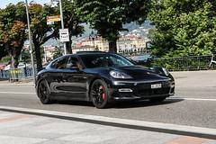 Switzerland (Valais) - Porsche 970 Panamera Turbo (PrincepsLS) Tags: switzerland swiss license plate lugano spotting vs valais porsche 970 panamera turbo