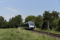 Abellio VT 121103 in Bocholt richting Wesel 14-06-2019 (marcelwijers) Tags: abellio vt 121103 bocholt richting wesel 14062019 95 80 00 648 3308 dabrn