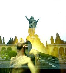 Graveyard shift (Karsten Fatur) Tags: film analogue filmphotography doubleexposure surreal ethereal ghost portrait model malemodel gay lgbt lgbtq queer queerart 120film 120 mediumformat mediumformatfilm filmswap collaboration nude naked nudemodel man male lighting naturallight travel rome italy travelphotography graveyard