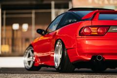 KNP 2pc Forged | Diego Najera (Kansei Wheels) Tags: red kansei kanseiwheels 2pc 5x1143 knp forged wheels jdm jdmwheels drifting drift nissan s13 240sx silvia