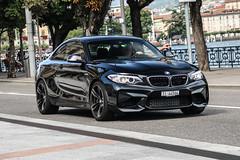 Switzerland (Ticino) - BMW M2 F87 Coupé (PrincepsLS) Tags: switzerland swiss license plate lugano spotting ti ticino bmw m2 f87 coupé