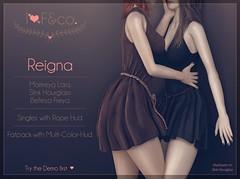 Reigna (Ainadara Resident) Tags: i3f i3fco maitreya fashion original mesh event exclusive slink hourglass belleza freya fantasy rope medival gor gorean roleplay dress slave