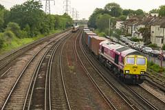 66587 (David Blandford photography) Tags: southampton hampshire intermodal 1700 mct trafford park flt